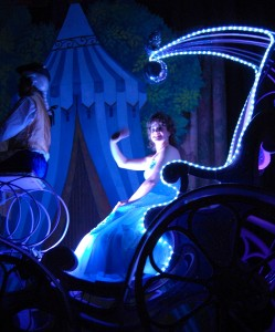Cinders in the Magic Coach