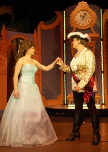 Prince Charming and Cinderella in the Ballroom Scene
