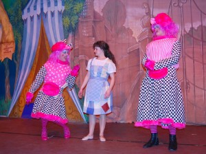 Cinders meets the Ugly Sisters